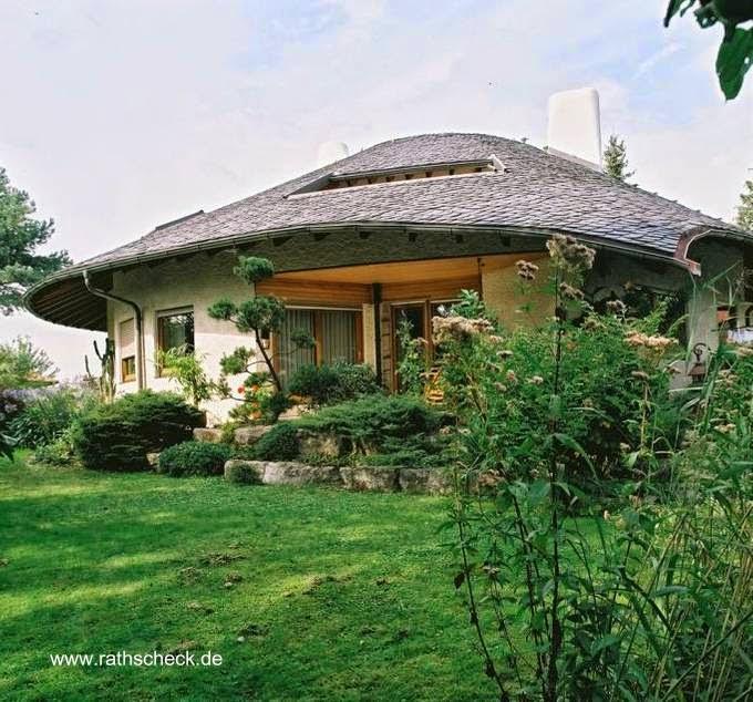 Casa residencial en Alemania con techo orgánico
