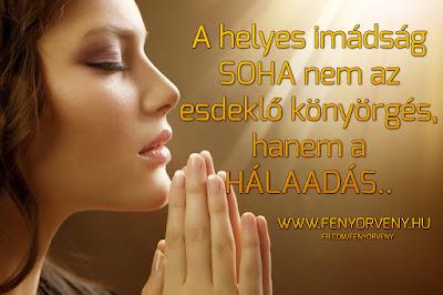 A helyes imádság