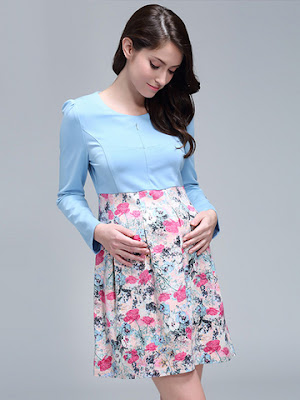 baju hamil modis untuk pesta