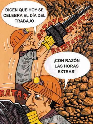 1 de Mayo - Feliz Dia del trabajo / trabajador