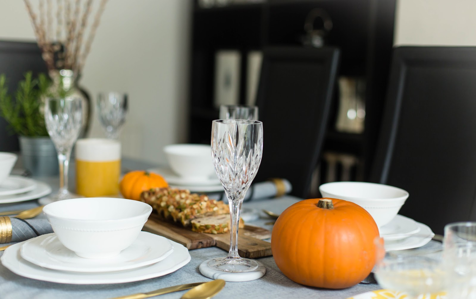 Halloween Dinner Table Setting.Halloween Inspired Tablescape With Sainsbury S Finnterior