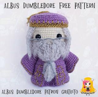 PATRON GRATIS ALBUS DUMBLEDORE | HARRY POTTER AMIGURUMI 38944