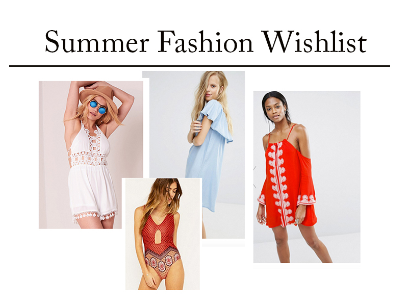 Summer Fashion Wishlist // Lauren Rose Fashion, Beauty & Lifestyle Blogger London ft. ASOS, Boohoo, Missguided & Missy Empire