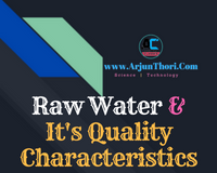quality characteristics of raw water