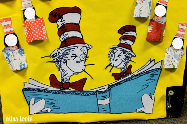 Miss Lovie: Dr. Seuss Door Decoration: I Can Read With My ...