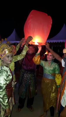 Acara Pembukaan Festival Padang Melang