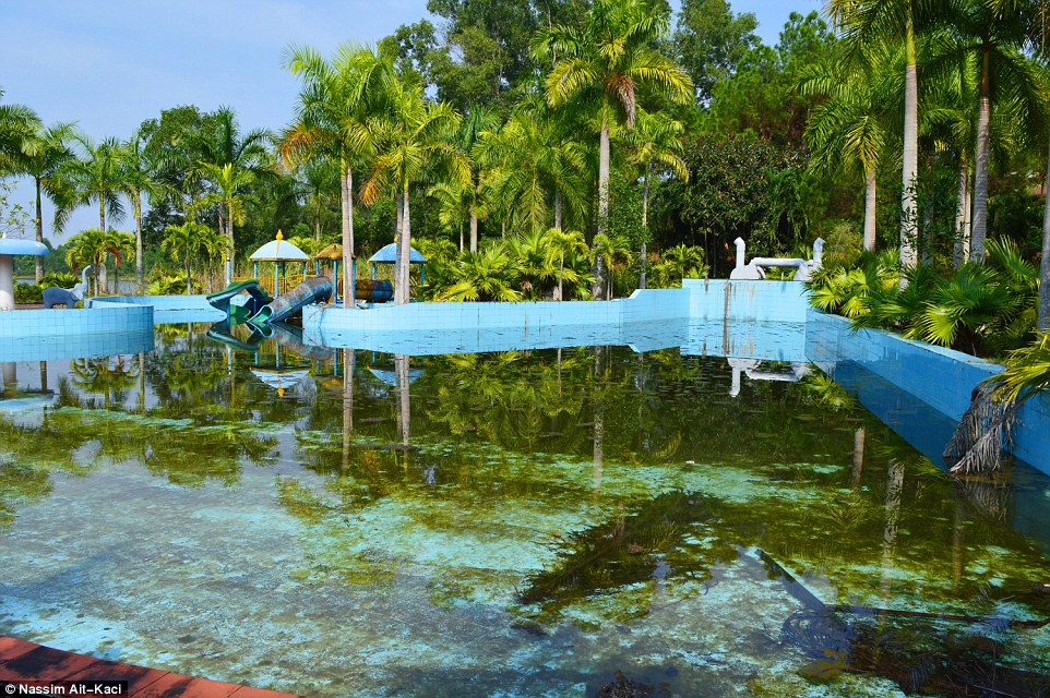 Abandoned Water Park Has Been Reclaimed By Nature