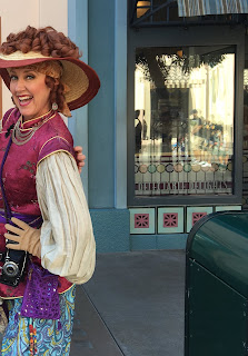Phi Phi the Photographer in Disney California Adventure
