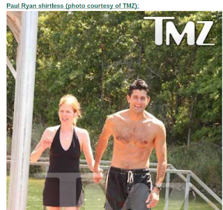 Apologise, but, paul ryan shirtless consider, that