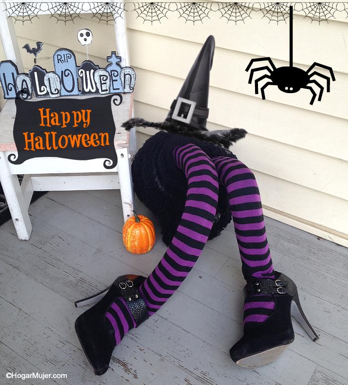 Piernas para decorar tu hogar en Halloween