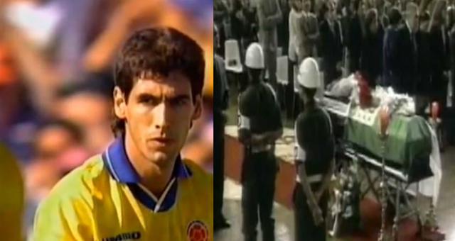 """Capturan a narco implicado en muerte de Andrés Escobar """"El caballero del fútbol"""" ejecutado días después de meter autogol y quedar fuera de mundial"""