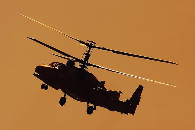 Gambar 04. Foto Helikopter Tempur Kamov Ka-52 Alligator
