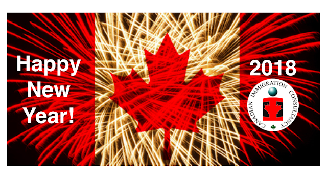 Happy New Year! This 2018, make Canada your new Home!