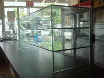 GLASS DISPLAY CASES NY