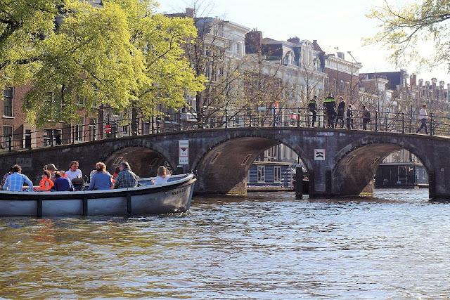 Kanaltur i Amsterdam