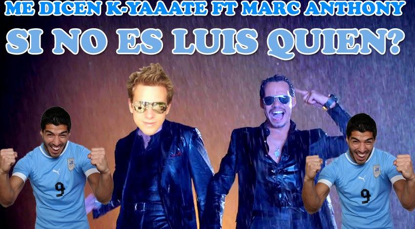 Lesion Luis Suarez 2014