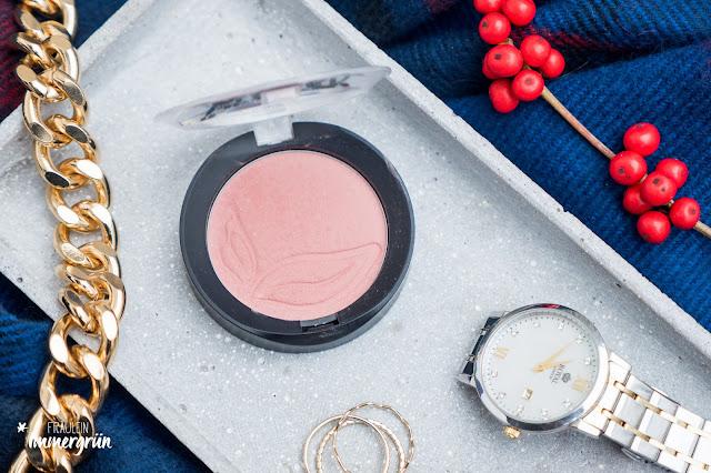 puroBIO cosmetics Compact Blush in 01 Rosa (schimmernd)