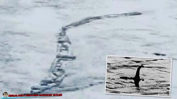 Video Penampakan Nessie Saat Melewati Danau