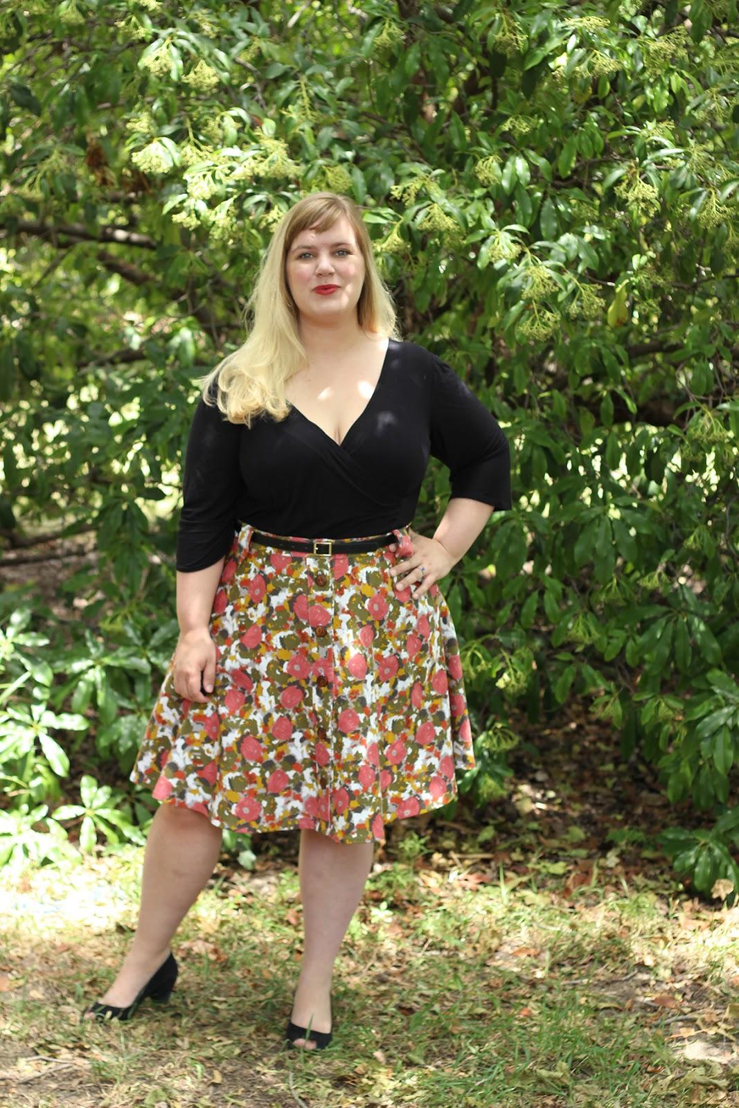 14c7ce228f2 Miss Poppy Makes the Deadline  Cressida Skirt