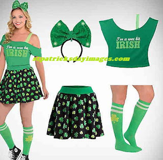 plus size st patrick's day costumes