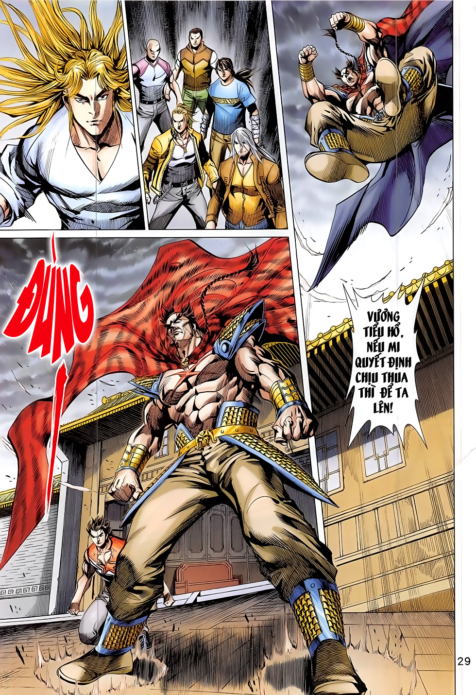 Đông Phương Chân Long chap 64 - Trang 29