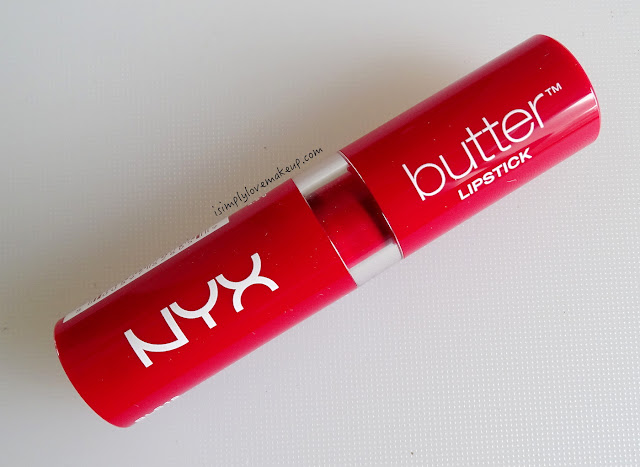 NYX Butter Lipstick in Fire Brick - Swatches Review