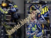 BBM Mod Valentino Rossi Apk 2017