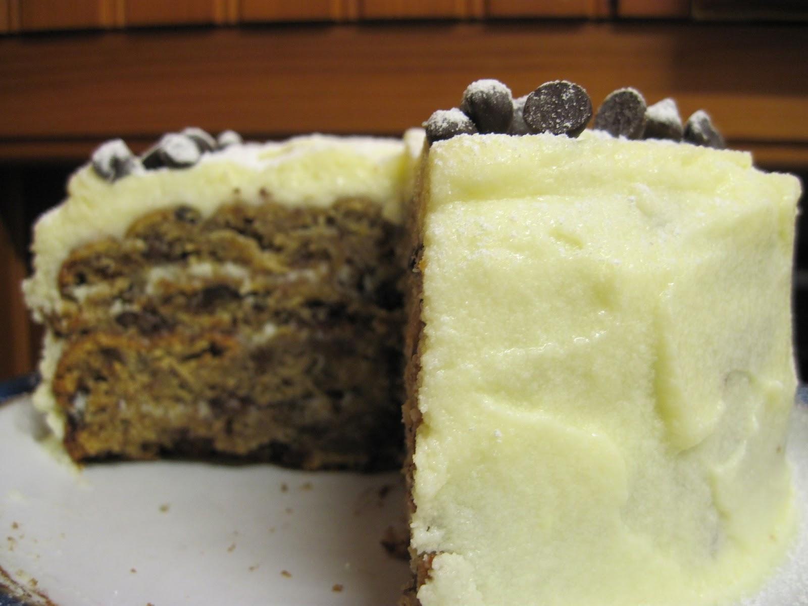 Banana Cake Cream Cheese Icing Recipe