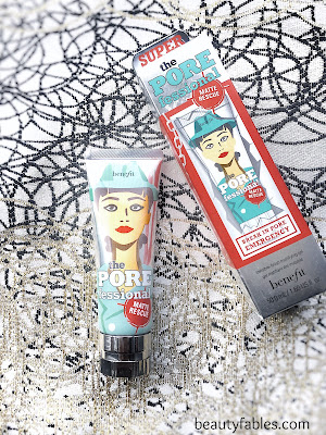 how to use the benefit cosmetics porefessional matte rescue primer