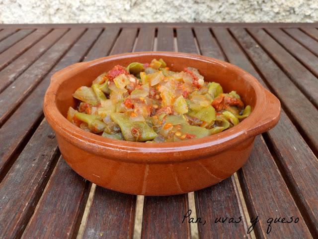 Judías verdes con jamón (tradicional o Crock-Pot)