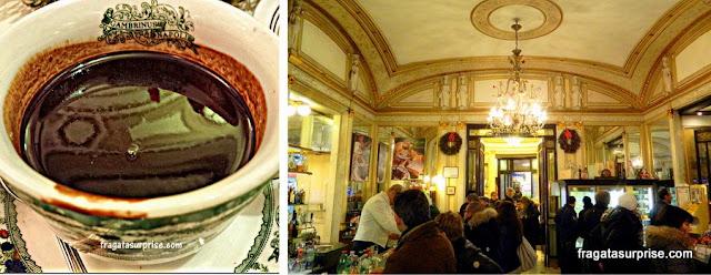 Caffè Gambrinus, café tradicional de Nápoles