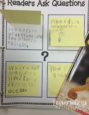 Questioning the Text activity