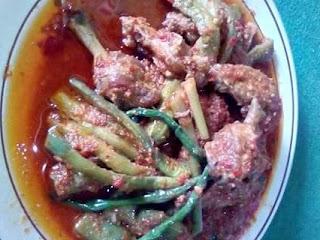 resep ayam terong pedas