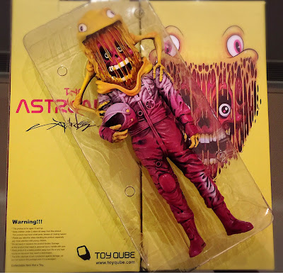 The Astronaut Vinyl Figure by Alex Pardee x ToyQube