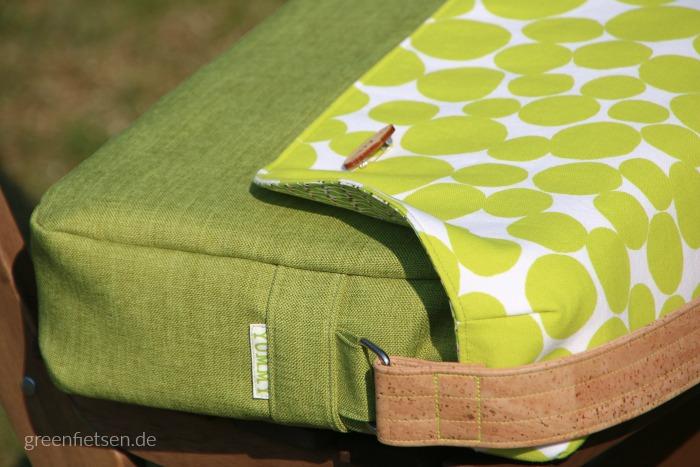 Taschenspieler 3 | Die Kuriertasche von farbenmix mit Korkträger