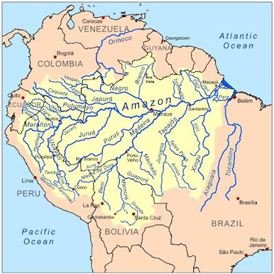 Penyebaran Wilayah Red Bellied Piranha