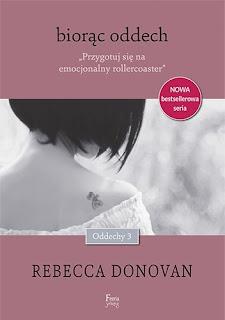 """""""Biorąc oddech"""" Rebecca Donovan"""