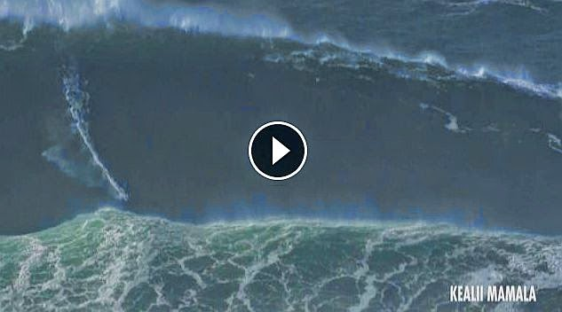 Behind the Lines - Behind the Scenes - Nazare - November 2014