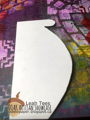 Cloth, Paper, Scissors, OOAK Artisans, Leah Tees, Mixed Media