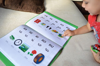 Hermoso silabario para descargar en Word 3