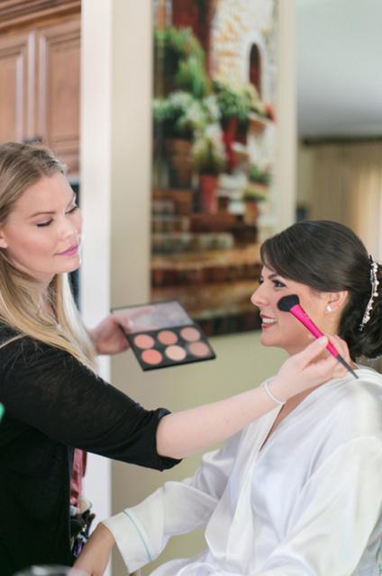 Elizabeth Jones No Labels Just Beauty Plus-Size Model Make Up Artist Skincare Expert licensed esthetician mua behind the scenes fashion show makeup artist interview on A Stylish Love Story fashion blog