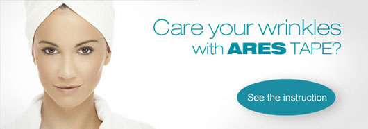 Ares Kinesiology Tape Treat Your Wrinkles With Ares Tape