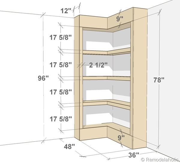 bookshelf plans woodworking