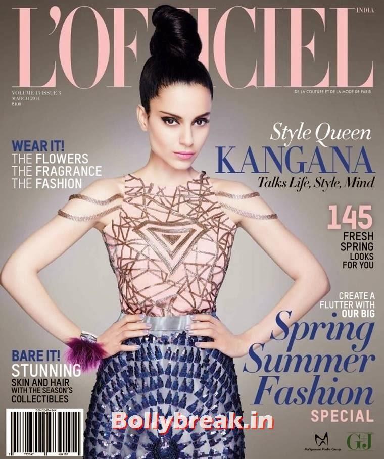 , Kangana Ranaut L'Officiel Magazine Scans