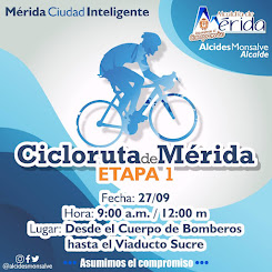 Alcides Monsalve: Este domingo inicia la Cicloruta de Mérida