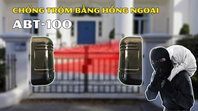 HDSD Bộ hàng rào báo động chống trộm bằng cảm biến hồng ngoại ABT-100
