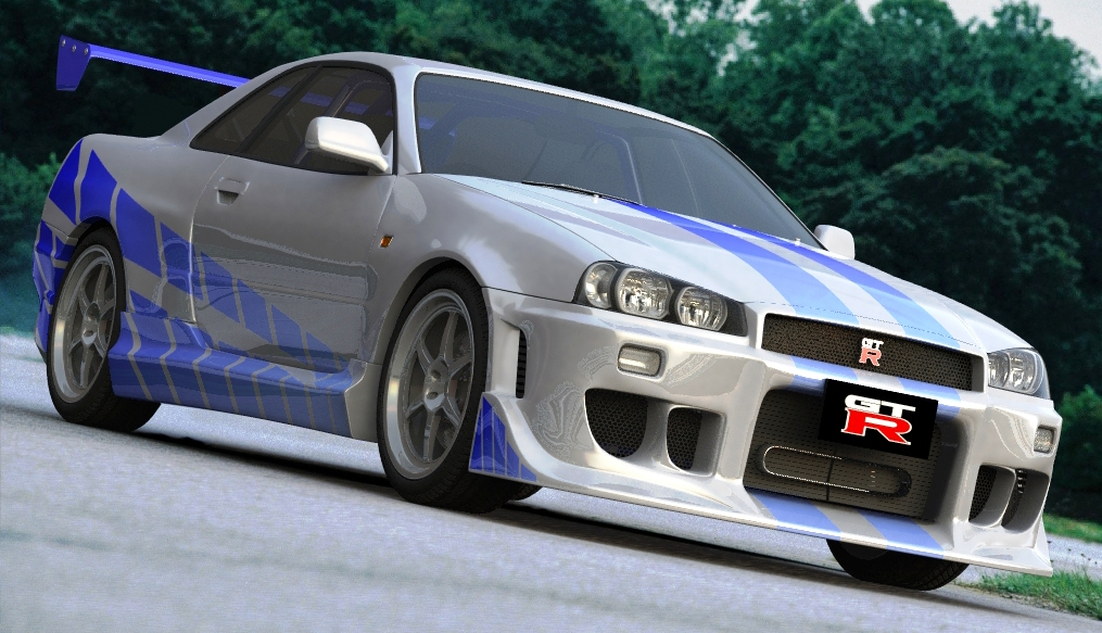 Nissan Skyline Fast And Furious 2 >> Brian O Conner s Nissan Skyline R34 GT-R : 2 Fast 2 Furious ~ Auto Car