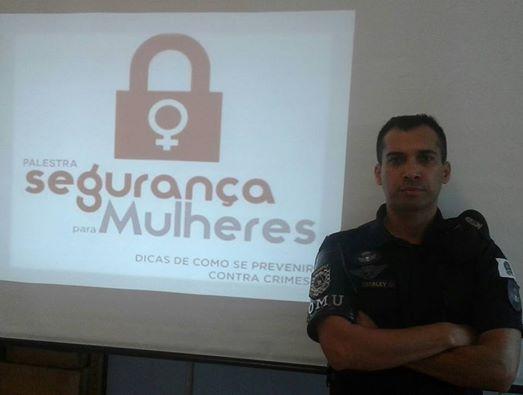 ROMU JANDIRA ministra palestra sobre ' Segurança Pessoal da Mulher '