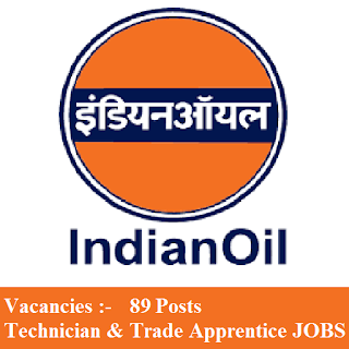 Indian Oil Corporation Limited, IOCL, freejobalert, Sarkari Naukri, Latest Jobs, Apprentice, Trade Apprentice, Technician Apprentice, Graduation, iocl logo