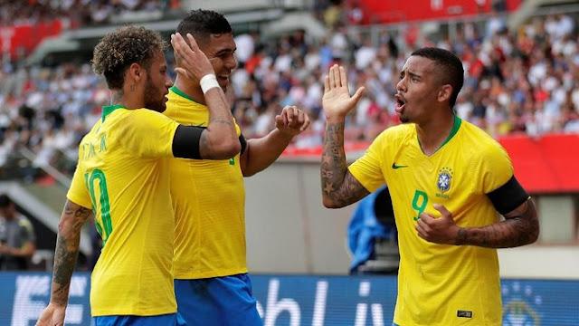 Laga Persahabatan: Brasil Libas Austria 3-0